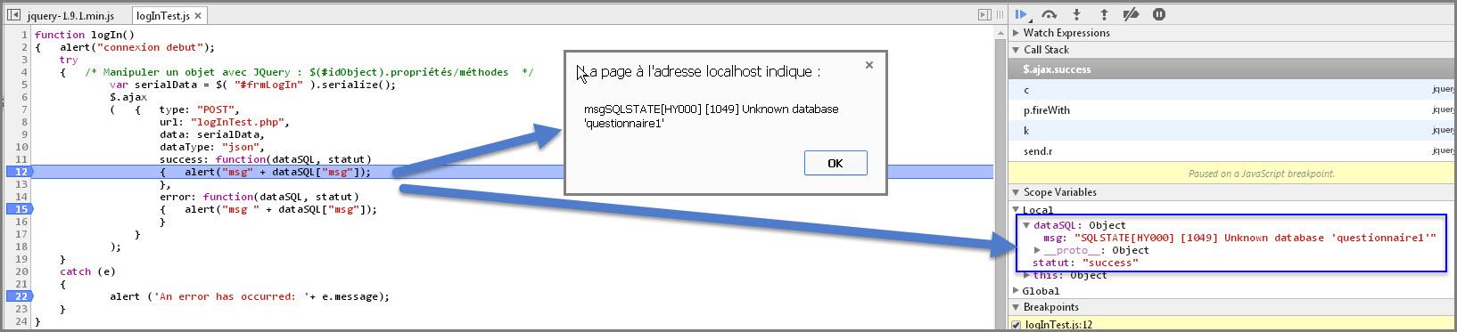 Jquery Php Json Traitement Erreur Acces Server Alsacreations