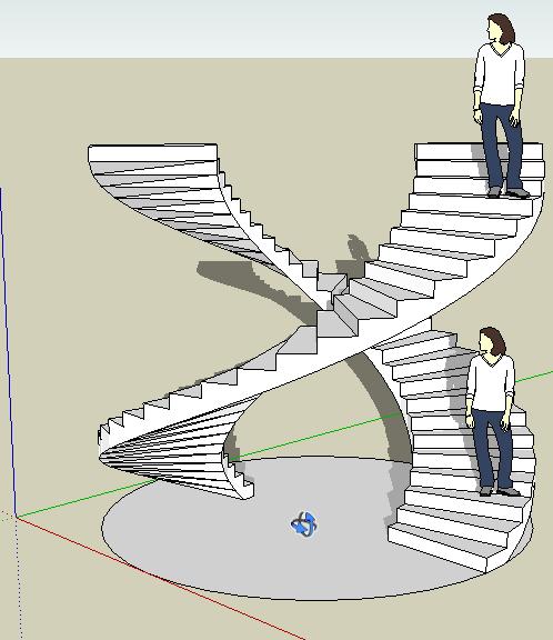 escalier de leonard de vinci pdf